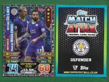 Leicester City Ritchie De Laet & Marcin Wasilewski 447 Defensive Duo
